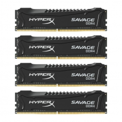 Kingston HyperX Savage Black 32GB (4x8GB) 3000MHz DDR4 CL15