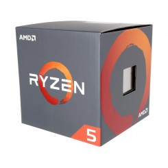AMD RYZEN 5 1600 6-Core 3.2 GHz (3.6 GHz Turbo) Socket AM4 65W