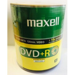 Maxell DVD+R 4.7GB پک 100 عددی