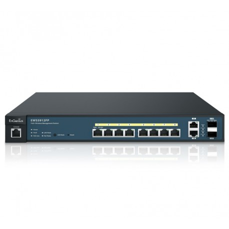 EnGenius EWS5912FP 8-Port Managed Gigabit 130W PoE Switch