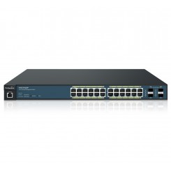 EnGenius EWS7928P 24-Port Managed Gigabit 185W PoE Switch