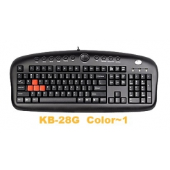 A4tech KB-28G Gaming Keyboard - Black