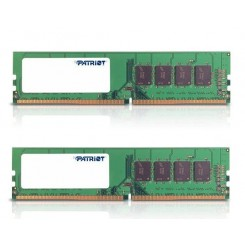 Patriot DDR4 8GB (2‍x4GB) 2400MHz CL17 Dual Channel Desktop