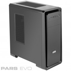 Green Pars EVO Mid-Tower Case
