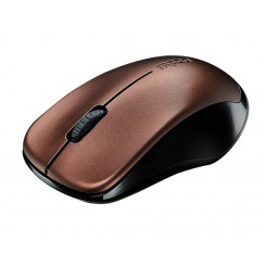 Rapoo 1620 Wireless Optical Mouse - Brown
