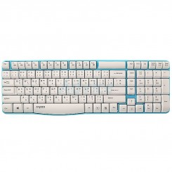 Rapoo E1050 Wireless Keyboard - Blue