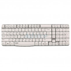 Rapoo E1050 Wireless Keyboard - White