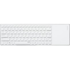 Rapoo E6700 Bluetooth Keyboard + Touchpad - White
