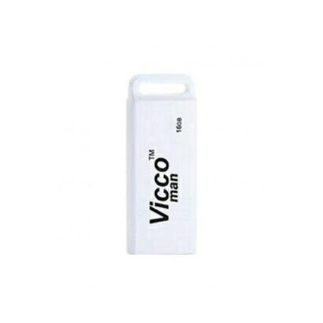Vicco man 16GB VC230 W USB 2.0 Flash Memory - White