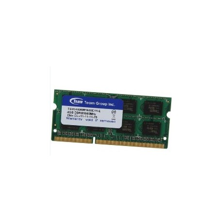 4GB PC3L-1600MHZ Team Group Ram