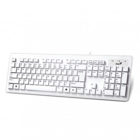 Genius SlimStar 130 Keyboard - White