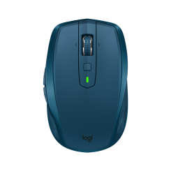 Logitech MX ANYWHERE 2S Wireless Mouse - Midnight Teal