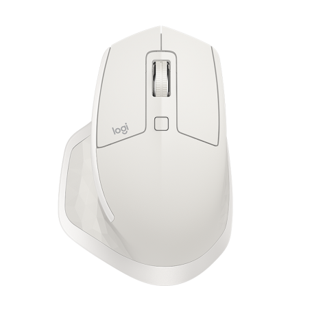 Logitech MX MASTER 2S Wireless Mouse - Light Grey