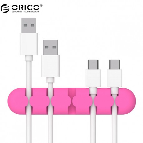 ORICO CBS5 - Cable Management - Pink