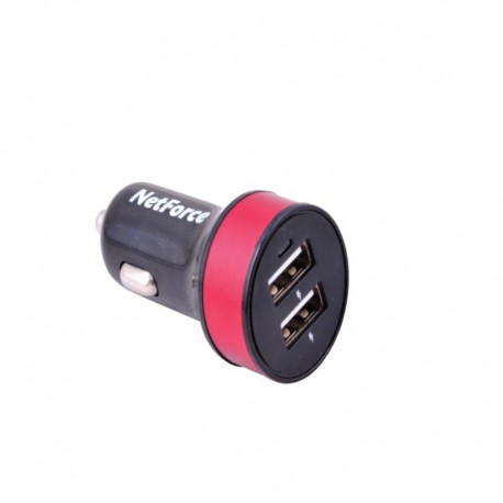 NetForce SN-143 Car Charger - Black