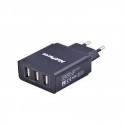 NetForce UPS-217 USB Wall Charger - Black