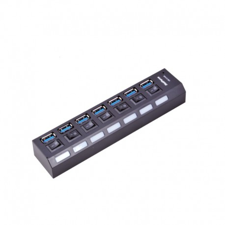 NetForce HUB-306 USB HUB - Black