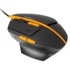 GREEN GM601 Gaming Mouse - Black