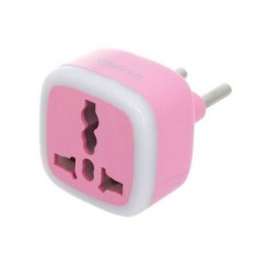 Hadron A10 Surge Protector and Adaptor - Pink