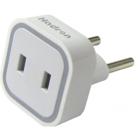 Hadron HTH-A08 Surge Protector and Adaptor - White