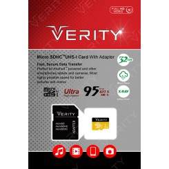 Verity Micro SD Class 10 95MBps UHS-I U1 32GB