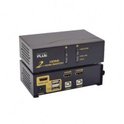 K-NET PLUS KPH622 AUTO HDMI KVM SWITCH 2PORT