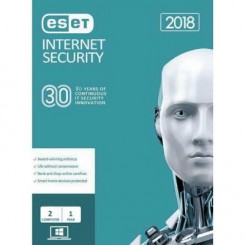 Eset Internet Security Edition 2019 - 1+1 User 1Years