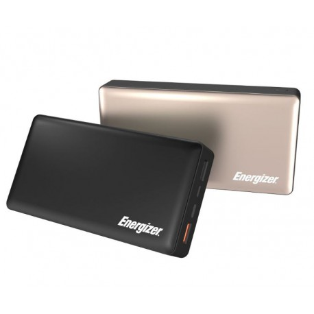 Energizer UE20015CQ PowerBank with Type-C - Black