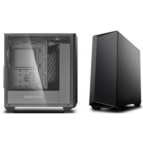DeepCool Earlkase RGB Computer Case - Black