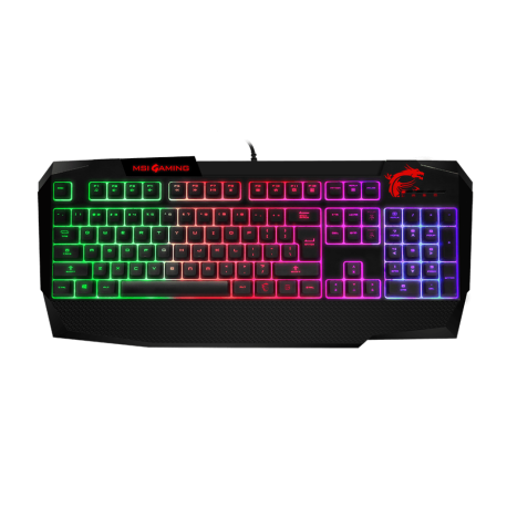 MSI Vigor GK40 Gaming Keyboard - Black