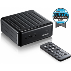 Asrock BeeBox J3160-NUC Barebone Mini PC - Black
