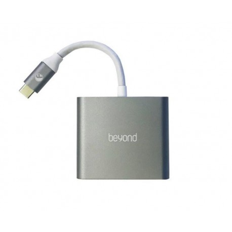 Farassoo Beyond BA-410 3 Ports Type-C To HDMI & USB 3.0