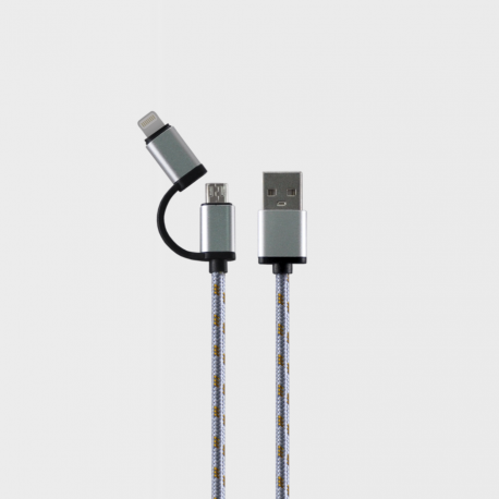 Beyond BA-917 Micro USB / Lightning - Fast Charging Cable