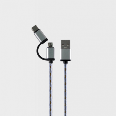 Beyond BA-916 Micro USB / Type-C - Fast Charging Cable