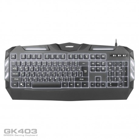 Green GK403 Gaming Keyboard