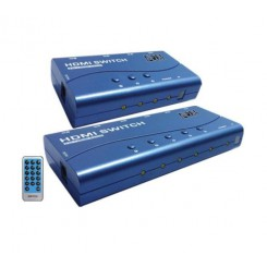 K-Net Plus KPS715 HDMI Switch 5port - Blue
