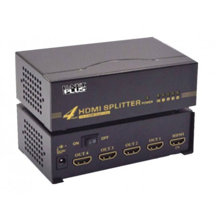 K-Net Plus KPS644 HDMI Splitter 4 Port