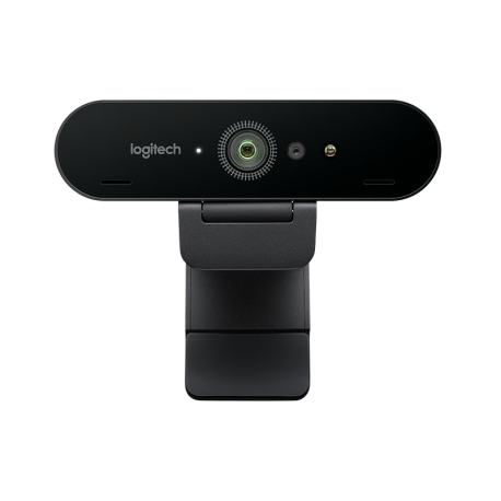 Logitech BRIO 4K Ultra HD with RightLight3 HDR Webcam