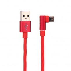 Tsco TC31 USB to microUSB Cable-red