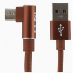 Tsco TC31 USB to microUSB Cable-brown