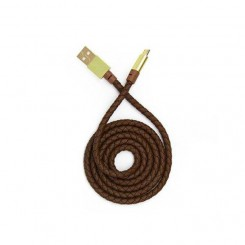 Tsco TC96 USB toTYPE-c Cable-brown