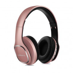 Volkano Phonic Series full size headphones-VK-2002-GD-Rose gold
