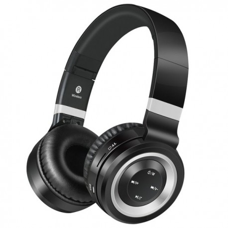 Volkano Lunar series headphones - Black/Silver