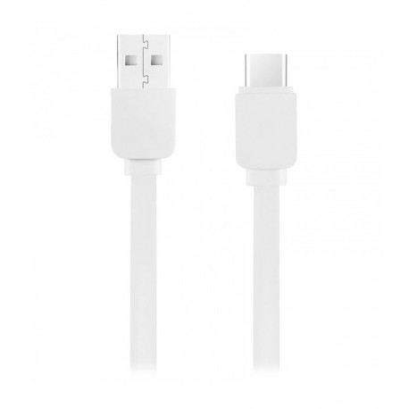 Volkano Slim series Type C cable white-CAB349-WH