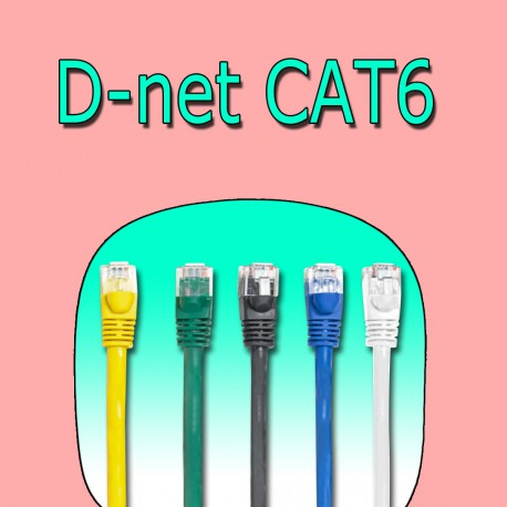 D-net CAT6 Ethernet Cable 10m