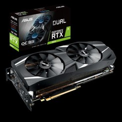 ASUS DUAL-RTX2070-O8G Graphic Card
