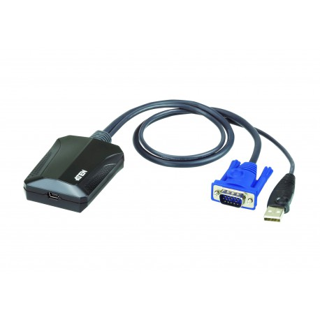 ATEN CV211 Laptop USB KVM Console Crash Cart Adapter - خرید کی وی ام سوئیچ آتن