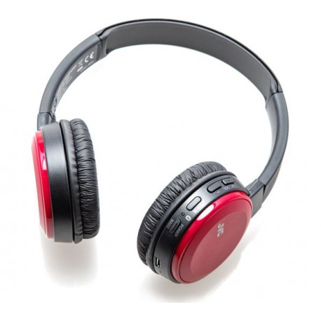 JVC HA-S30BT BLUETOOTH HEADPHONES RED
