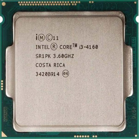 Intel® Core™ i3-4160 Processor 3M Cache, 3.60 GHz