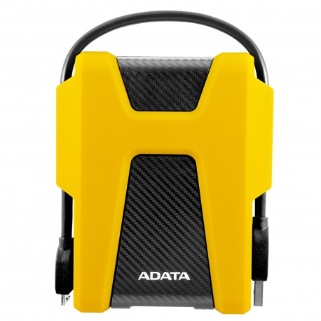 ADATA HD680 2TB External Portable Hard Drive Yellow